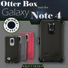 OtterBox Defender Case Series With Belt Clip Holster For Samsung Galaxy Note 4