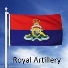 LARGE 5FT X 3FT ROYAL ARTILLERY FLAG UNION JACK BRITISH ARMY GUNNER MILITARY