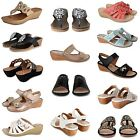 WOMENS LADIES TOE POST SUMMER HOLIDAY DIAMANTE WEDGE FLIP FLOP SANDALS SHOES