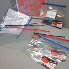 Clear Zip Bag Document Storage Filing Wallet A4+ & A5 Pack of 3