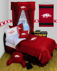 Arkansas Razorbacks  Comforter Sham & Pillowcase Twin Full Queen Size