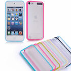 TPU Plain Hard Silicone Matte Back Case for iPod Touch 5 iTouch Skin Cover