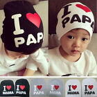 Fashion Kids Baby Infant HAOC Love Boy Girl Cute Soft Warm Hat Cap Cotton Beanie