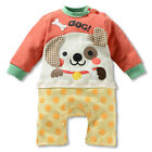 NWT Baby Long Sleeve Clothes / Romper Animal style - DOG 6~24months (104695)