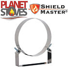 Stainless Steel Shieldmaster 50mm Fixed Wall Support For Twin Wall Flue Pipe