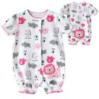 NEW Carters' Baby / Infant Summer Short Sleeve Bodysuits LION 3~12months (2186)