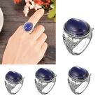 1PC Vintage Court Oval Color Change Ring Fashion Womens Girls Gift New Retro