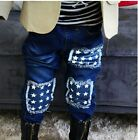 New Boys Jeans/Trousers 4-5, 5-6 and 6-7 Years - Denim Stars
