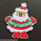 Iron on Patch - Santa/Father Christmas - Christmas - Advents Calender - Applique