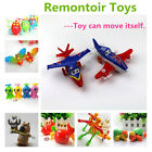 Funny Baby Children Kids Wind-up Clockwork Animal Plane Toys Party Favor Gifts