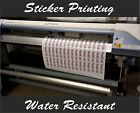 Custom Printed Cut Vinyl Stickers Decals Logos - Your Own Design