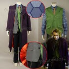 Batman:The Dark Knight Rise Joker Costume Cosplay Outfit Suit Tuxedo Full Set