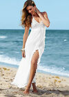 2015 White Lady Summer Boho Casual Dress Evening Beach Party Wedding Dresses New