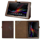 STAND FOLDING PU LEATHER CASE COVER HOLDER FOR SONY XPERIA Z1 10.1 SGP311 SGP312
