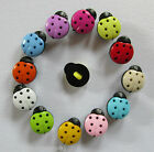 7 - Novelty Buttons - Ladybird #2 - 15mm - Baby/Kids - Knitting/Sewing/Cards