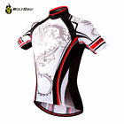 Men's Cycling Sport Jersey Bicycle Wear Clothing Short Sleeves Shirt Top S-4XL
