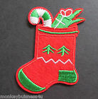 Iron on Patch - Christmas Stocking - Christmas - Advents Calender - Applique
