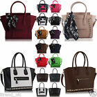 Ladies Handbag Designer Leather Style Cross Body Shoulder Satchel Women Bag Tote