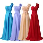 New Long Chiffon Prom Bridesmaid Party Evening Ball Gown Wedding Dress PLUS SIZE