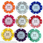Personalised Save the Date Wedding Casino Themed Poker Chips Tokens (Pack of 10)