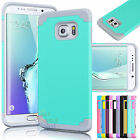 TPU Rubber Ultra Thin Protective Hard Case Cover For Samsung Galaxy S6 Edge Plus