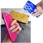 Finger Ring Case, Weave Pattern Mobile Phone Case Cover for iPhone 6, 6 Plus