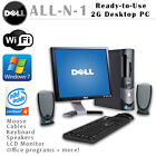 Dell  Optilex 270gx 2-4g 160gb HD, FULLY LOADED, READY TO USE ALL-N-1 desktop PC