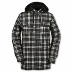 2016 NWT Volcom Field Bonded Flannel Shirt Jacket Mens Snowboard L Large