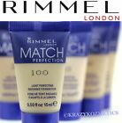 2 x RIMMEL Match Perfection Foundation - 30ml In Total - 13 Shades Available -