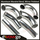 Aluminum Mandrel Bend Intercooler Pipe Piping Degree 15 45 90 135 180 Straight