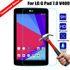 "Genuine Tempered Glass Screen Protector for 7"" LG G Pad 7.0 V400 V410 Tablet"