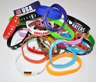 Random Mixture/Colour/Design of Silicone Wristbands - Wholesale