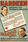 Print Hardeen inherits his brother's secrets Houdini will makes possible the con