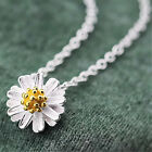 2015 Women 925 Sterling Silver Necklaces Little Daisy Rings&Necklaces Jewelry