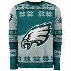 2015 Philadelphia Eagles UGLY Christmas Sweater Big Logo Crew Neck NEW NFL $49.95 USD on eBay