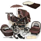 Baby Pram Stroller +Car seat - Pushchair Buggy Umbrella Footmuff swivel wheels <br/> ✔FAST DELIVERY✔FREE P&amp;P✔MANY COLOURS✔WARRANTY✔+GRATIS