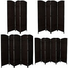 ENTWINE Hand Made Round top Black Room Dividers 3, 4, 5, 6 Panel