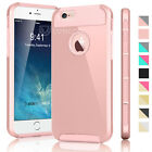 PC Shockproof Hybrid Rubber Hard Protective Cover Case For iPhone 6s / 6s Plus +