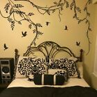 Tree Branch Bird Wall Decal Nursery Girl Kid Room Removable Vinyl Art Home Decor
