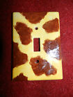 Giraffe Print Single Light Switch Plate/Cover~Ceramic~Free Shipping!