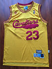 NBA Cleveland Cavaliers LeBron James Throwback Sewn/Stitched Jersey