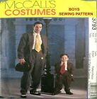 McCALLS SEWING PATTERN BOYS Retro Zoot Suit Swing Dance Costume 3793