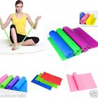 NEW 1.5m Yoga Resistance Band Pilates Physio Tension Strength Exercise Bands Set