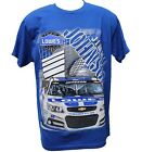 Jimmie Johnson Men's T-Shirt Two Sided Print (Large)