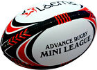 5 X PRO NRL Hi-Tech Ultra PIN GRIP 4PLY Rugby MINI MOD SENIOR League Match Ball