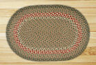BRAIDED JUTE EARTH RUGS STAIR TREADS ~OVAL ~NEW ~MANY COLORS