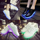 Big Size EUR 35-46 LED Dance Shoes USB charge Light Mens Womens Sneakers Unisex