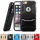 "Shockproof Slim Kickstand Rubber Hard Case Cover For iphone 6S 4.7"" / 6S Plus +"