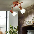 Contemporary LED Copper Spot Light Range | 1,2,3 or 4 light | Frosted Glass