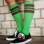 Oldschoolsocks by Spirit of 76 | the black Blacks on green Hi | Skatersocks